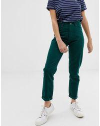 Lee Jeans - Lee Corduroy Mom Jeans - Lyst