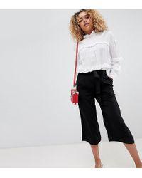 New Look - Tie Waist Culottes - Lyst