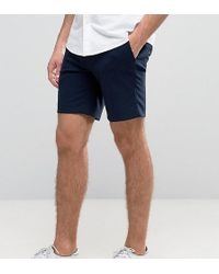 Only & Sons - Skinny Smart Shorts - Lyst