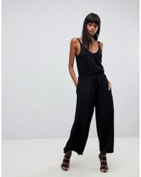01be206860c1 Lyst - G-Star Raw Belted Denim Jumpsuit in Blue