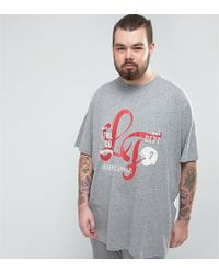 Loyalty & Faith - Loyalty And Faith Plus Printed T-shirt - Lyst
