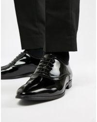 Kurt Geiger - Ralph Patent Oxford Shoes - Lyst