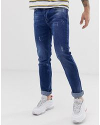 5fd004a0 Wesc Alessandro Slim Fit Jean Hf Rinse - Navy in Blue for Men - Lyst