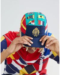 Polo Ralph Lauren - Cp-93 Capsule Limited Edition Crest Flags Print 5 Panel Cap In Green Multi - Lyst