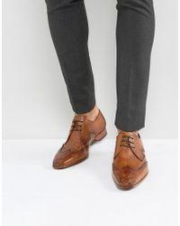 Jeffery West - Escobar Brogue Shoes In Tan - Lyst