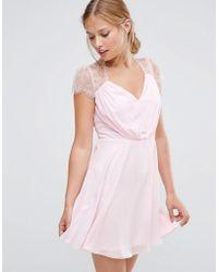 ASOS - Kate Lace Mini Dress - Lyst