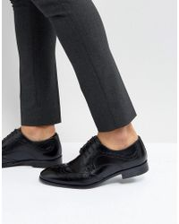 Red Tape - Smart Brogues In Black - Lyst