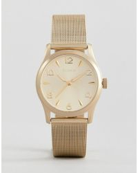 Pilgrim - 701712020 Gold Plated Watch - Lyst
