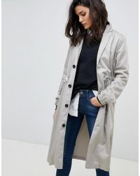 G-Star RAW - Relaxed Trench Coat - Lyst