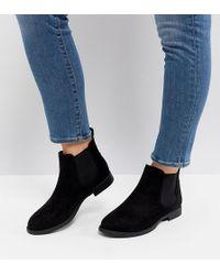 Park Lane - Wide Fit Flat Chelsea Boots - Lyst