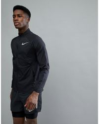 Nike - Shield Packable Jacket In Black 891432-010 - Lyst