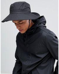 Rains - Boonie Bucket Hat In Black - Lyst