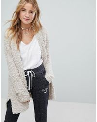 Hollister - Popcorn Soft Knit Cardigan - Lyst