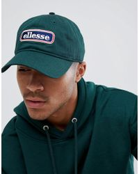 d21f851b Ellesse Nylon Dad Cap With Small Logo in Blue for Men - Lyst