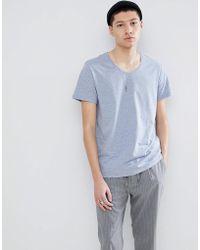 Weekday - Daniel T-shirt In Light Blue - Lyst