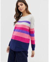 Oasis - Jumper In Stripe - Lyst