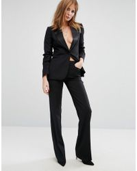 Millie Mackintosh - High Waisted Flared Suit Trousers - Lyst