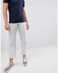 Dr. Denim - Otis Cropped Skater Jeans Dirty White - Lyst