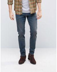 ASOS - Asos Stretch Slim Jeans In Dark Wash Blue - Lyst
