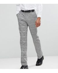 Heart & Dagger - Tall Skinny Suit Pants In Pow Check - Lyst