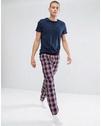 Ben Sherman - Gingham Woven Lounge Pant - Lyst