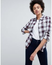 Lee Jeans - Lee Regular Fit Western Check Shirt - Lyst