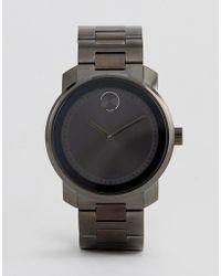 Movado - Bold 3600259 Bracelet Watch In Grey - Lyst