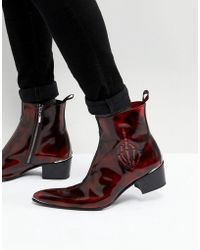 Jeffery West - Sylvian Skeleton Boots - Lyst