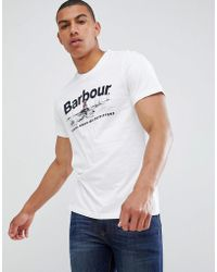 Barbour - Waterline T-shirt In White - Lyst