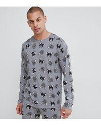 Chelsea Peers - French Bulldog Pyjama Set - Lyst