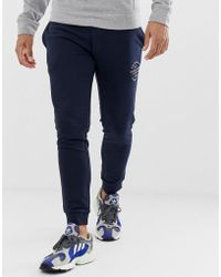 65507907 Tommy Hilfiger joggers With Leg Branding In Grey in Gray for Men - Lyst