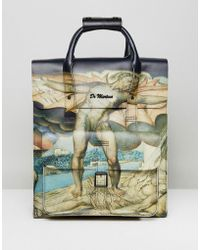 Dr. Martens | Leather Backpack William Blake Print | Lyst