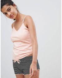 New Look - Cami And Short Pyjama Set - Lyst