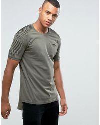 Loyalty & Faith - Loyalty And Faith T-shirt With Sleeve Detail - Lyst