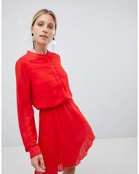 UNIQUE21 Красное Плиссированное Платье Unique 21 - Красный