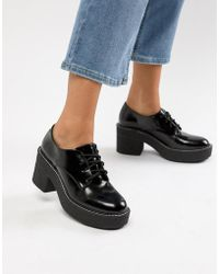 Bershka - Heeled Brogue - Lyst