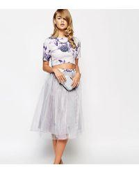 True Violet - Full Prom Tulle Skirt - Lyst