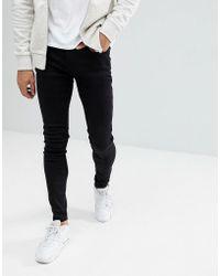 Blend - Lunar Black Super Skinny Jeans - Lyst