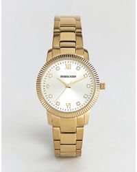 Dyrberg/Kern - Classic Gold Watch - Lyst