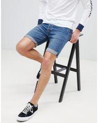 Levi's - Levi's 501 Cut Off Shorts Bleu Eyes - Lyst