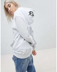 RIPNDIP - Ripndip Oversized Hoodie With Embroidered Logo Hood Co-ord - Lyst