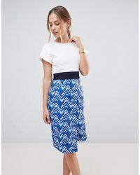 Closet - 2 In 1 Wrap Dress - Lyst