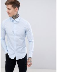 G-Star RAW - Muscle Fit Shirt - Lyst