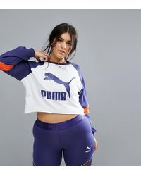 PUMA - Exclusive To Asos Plus Cutout Sweatshirt - Lyst