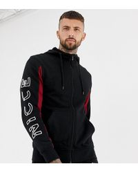 Nicce London - Nicce Hoodie In Black With Arm Logo Exclusive To Asos - Lyst