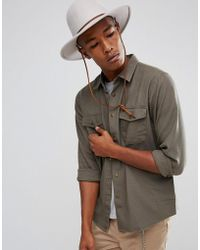 Brixton - Nevada Shirt In Relaxed Fit - Lyst