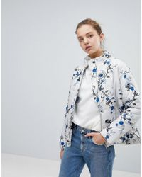 B.Young - Floral Printed Jacket - Lyst