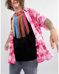 ASOS - Decorazione da corpo stile festival con nappe multicolore - Lyst