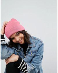Vero Moda - Beanie Hat - Lyst