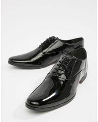 KG by Kurt Geiger - Kg By Kurt Geiger Patent Oxford Lace Up Shoes - Lyst